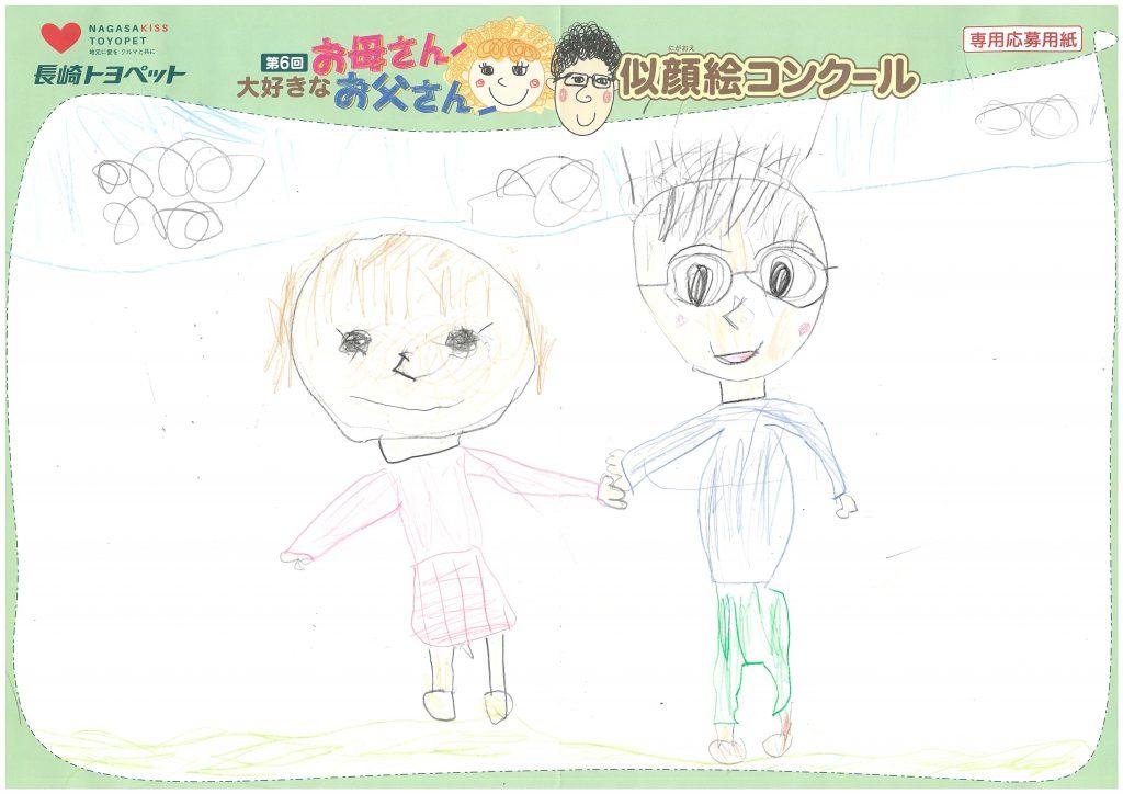 R.Hくん(7才)の作品