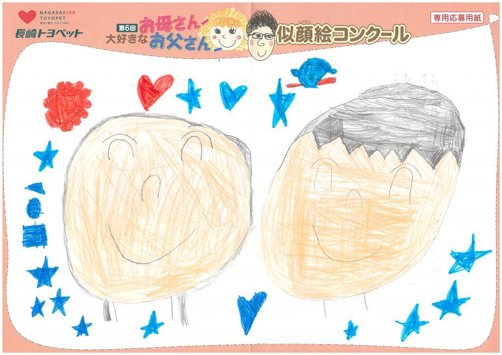 R.Hくん(6才)の作品