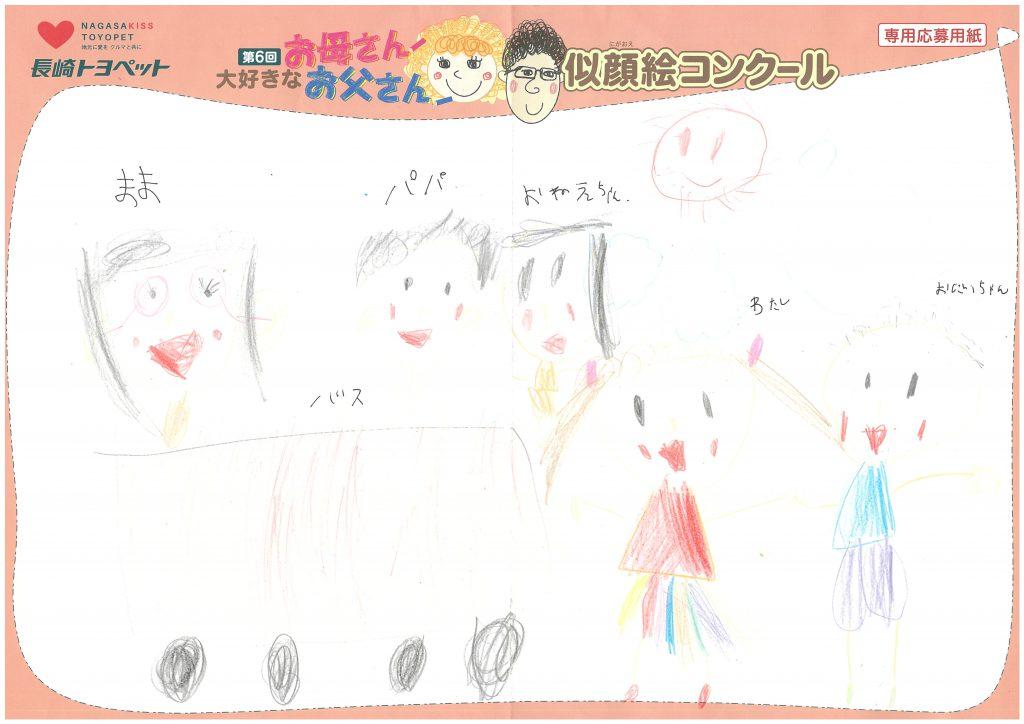 T.Wちゃん(7才)の作品