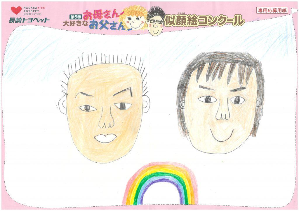 K.Nちゃん(11才)の作品