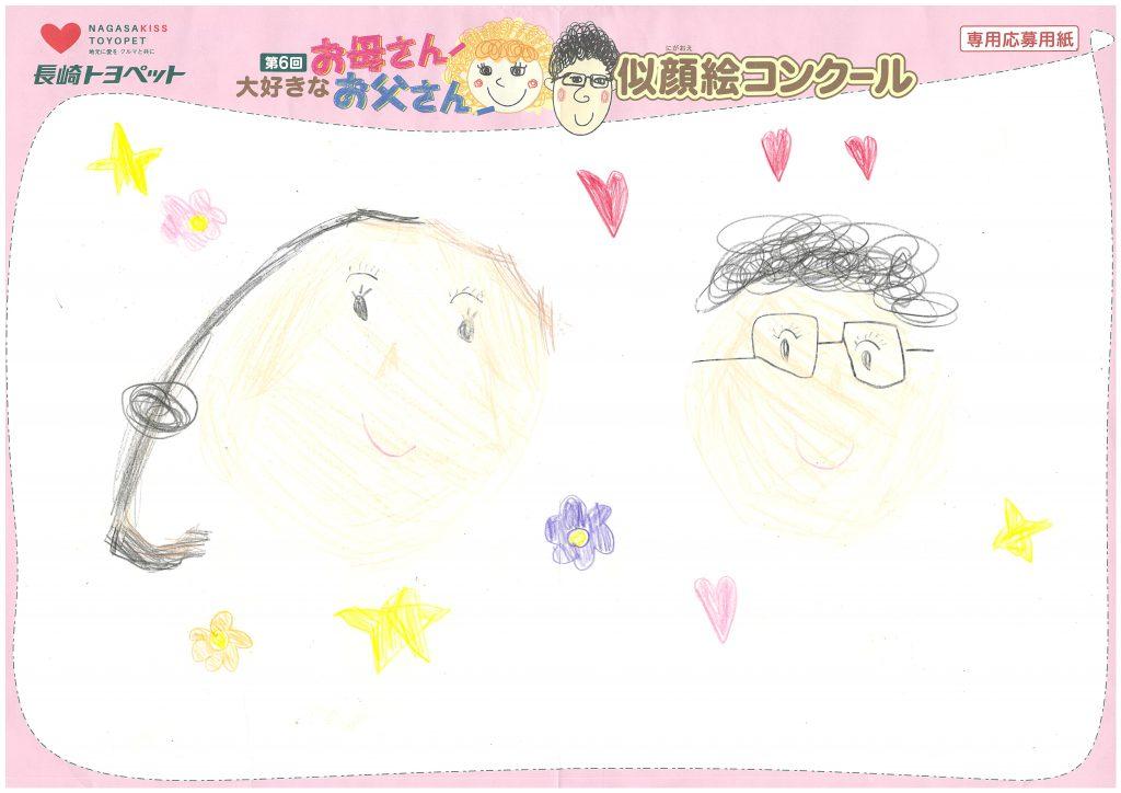 E.Rちゃん(6才)の作品