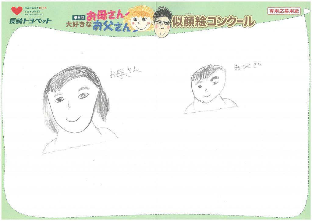 R.Nくん(10才)の作品