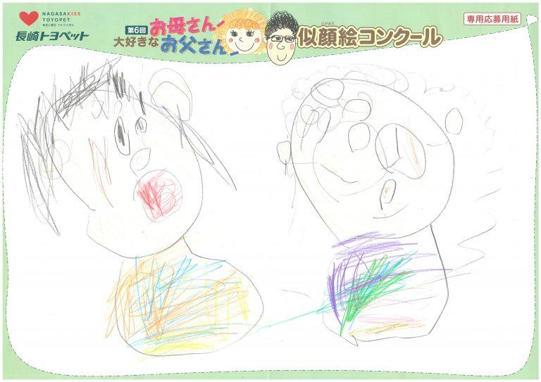 Y.Mちゃん(3才)の作品