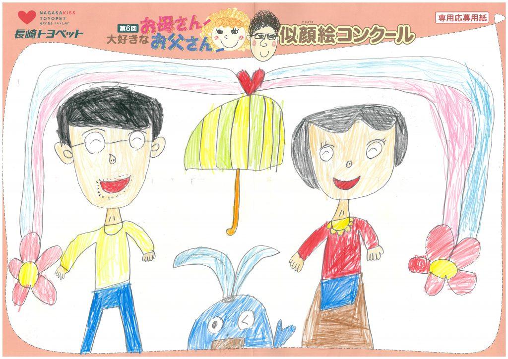 I.Iちゃん(7才)の作品