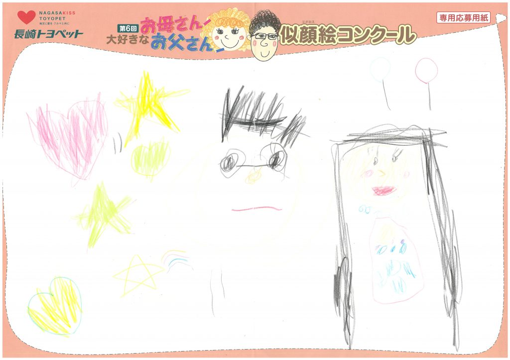 H.Tちゃん(4才)の作品