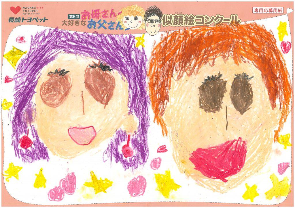 Y.Kちゃん(5才)の作品