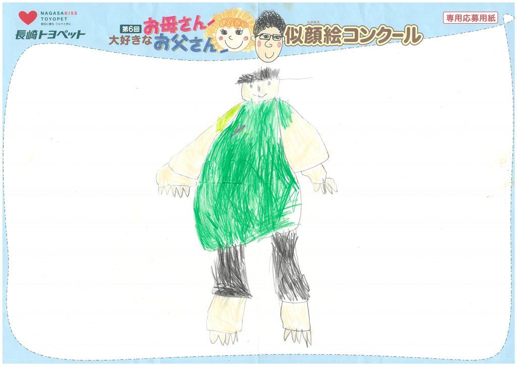 D.Yくん(6才)の作品