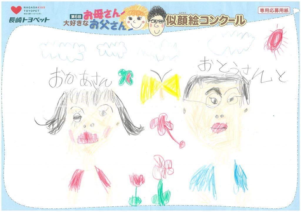 Y.Oちゃん(5才)の作品