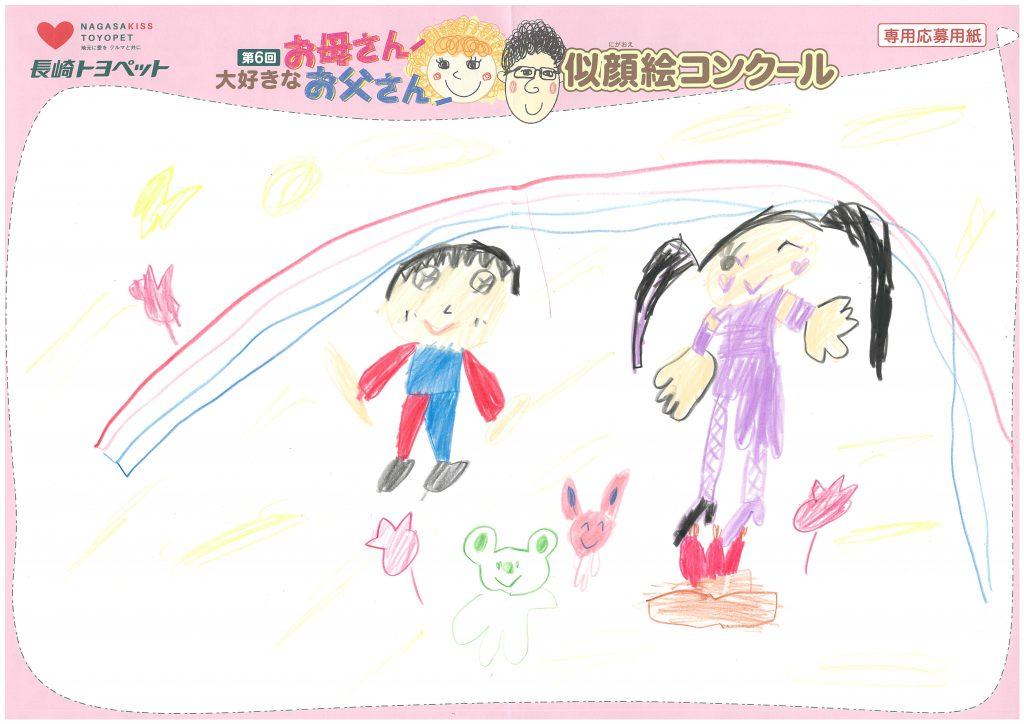 R.Sちゃん(6才)の作品