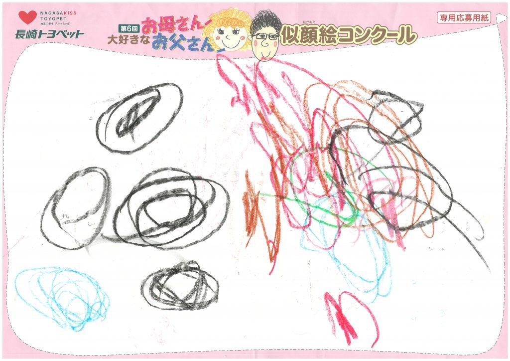 I.Kちゃん(2才)の作品