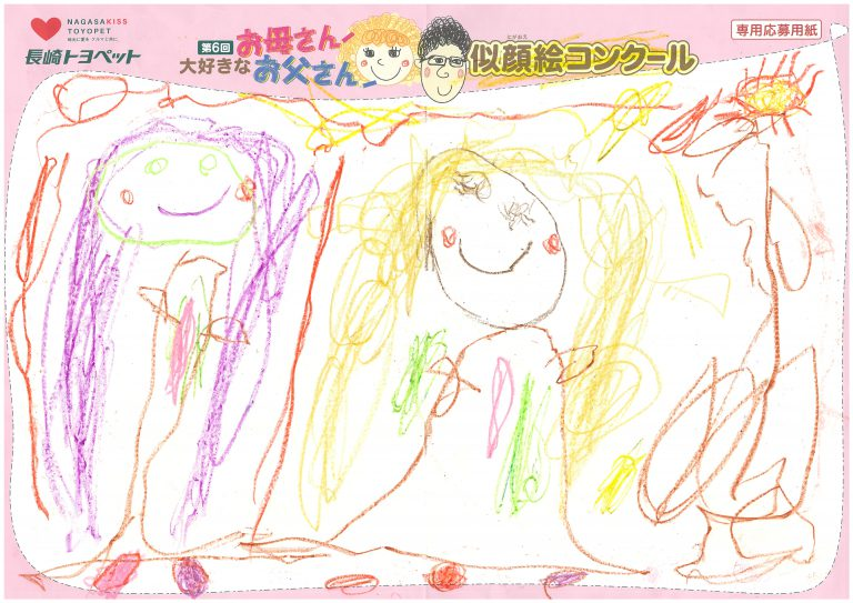 M.Nちゃん(4才)の作品