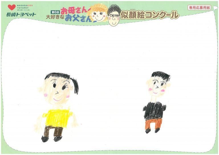 M.Nちゃん(7才)の作品