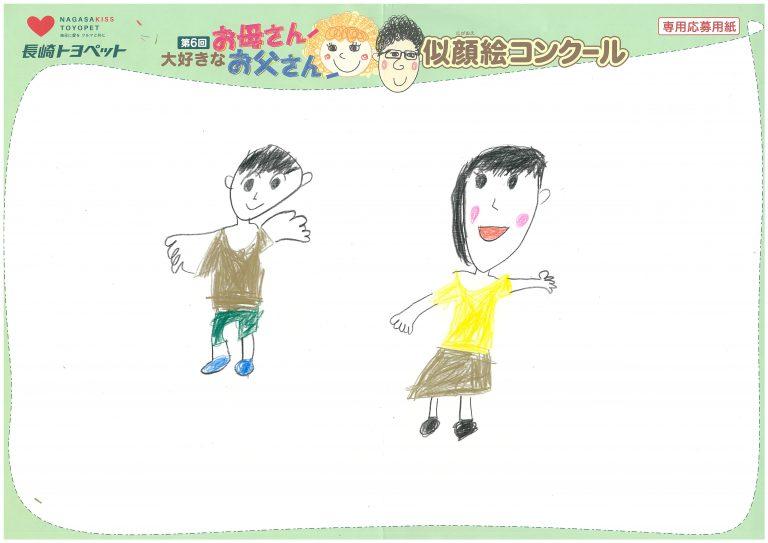I.Nちゃん(7才)の作品