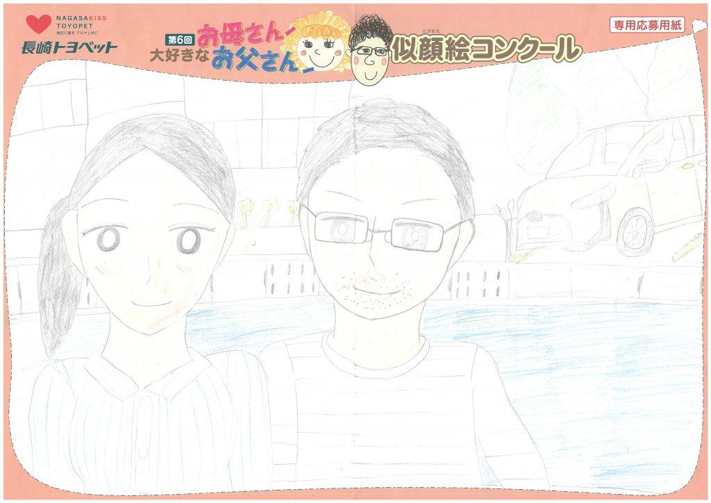 H.Eちゃん(11才)の作品