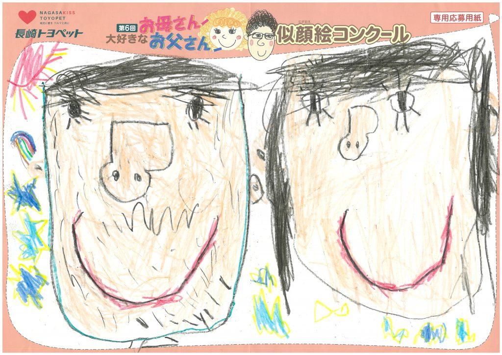 S.Iくん(5才)の作品
