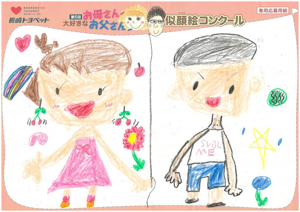 W.Iちゃん(7才)の作品