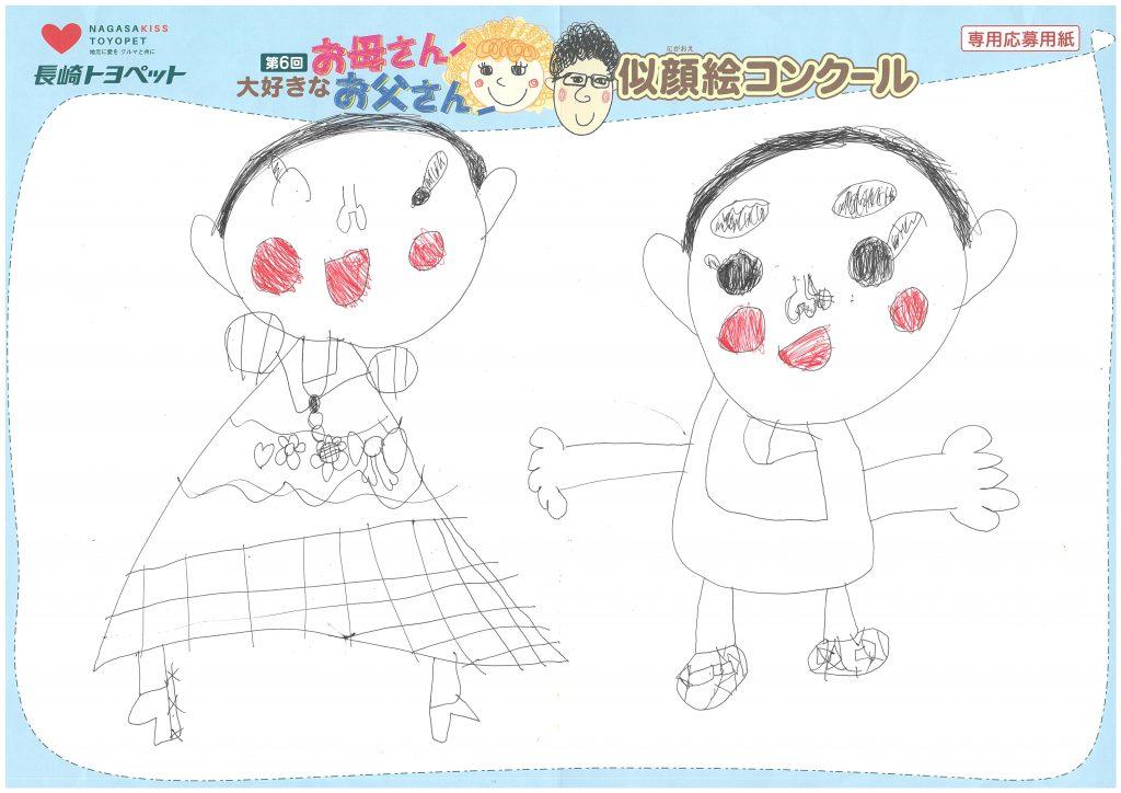 S.Aちゃん(5才)の作品