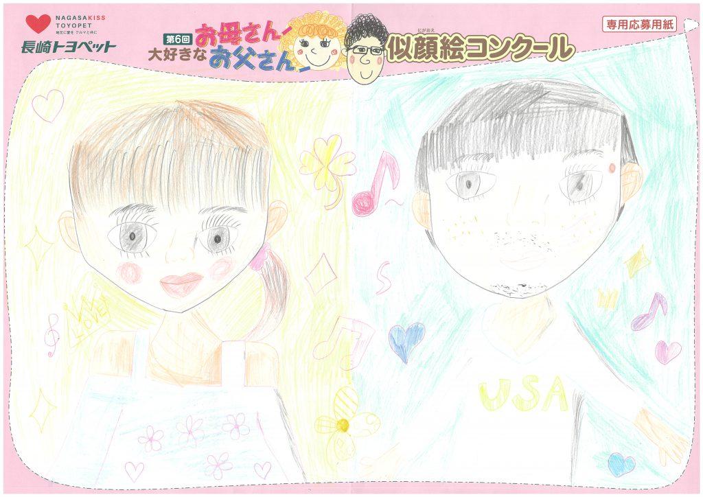 K.Iちゃん(10才)の作品