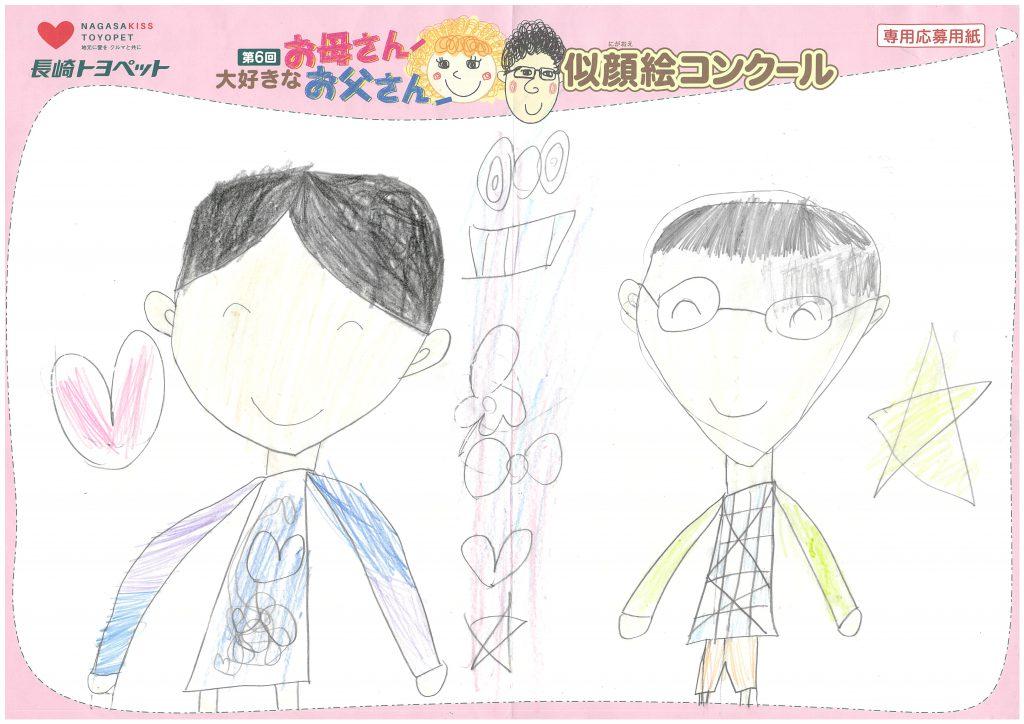 N.Aちゃん(7才)の作品