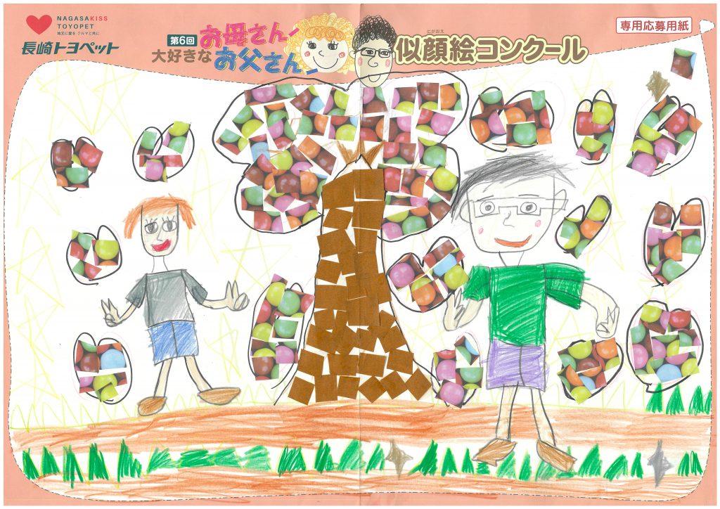 R.Tくん(9才)の作品
