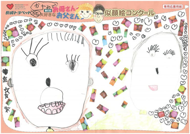 K.Tちゃん(5才)の作品