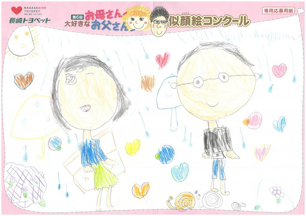 M.Wちゃん(5才)の作品