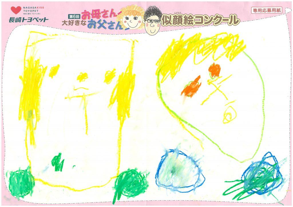 M.Sちゃん(3才)の作品