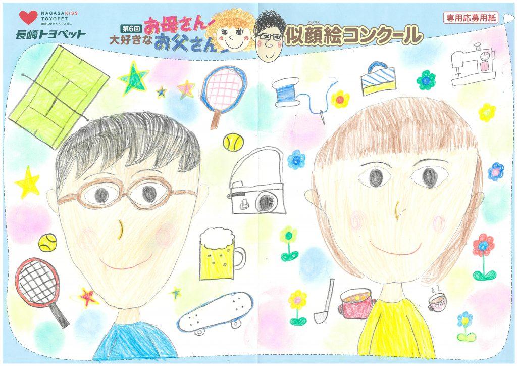 N.Kちゃん(7才)の作品