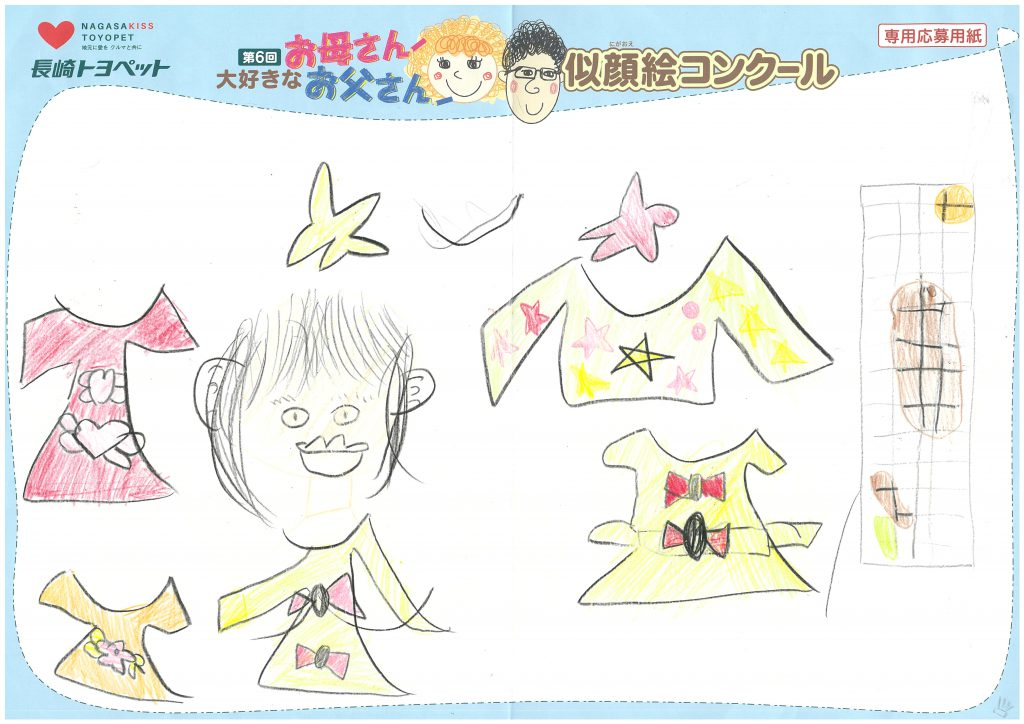 S.Yちゃん(6才)の作品