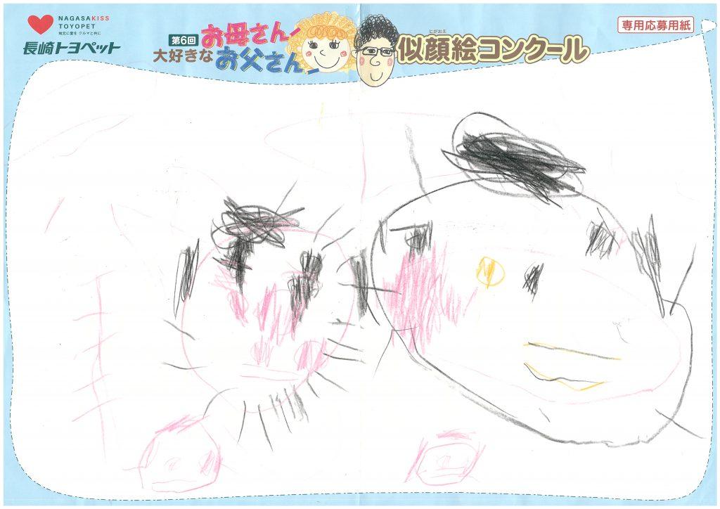 S.Tちゃん(3才)の作品