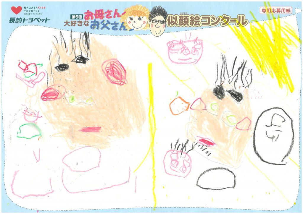 S.Sちゃん(3才)の作品