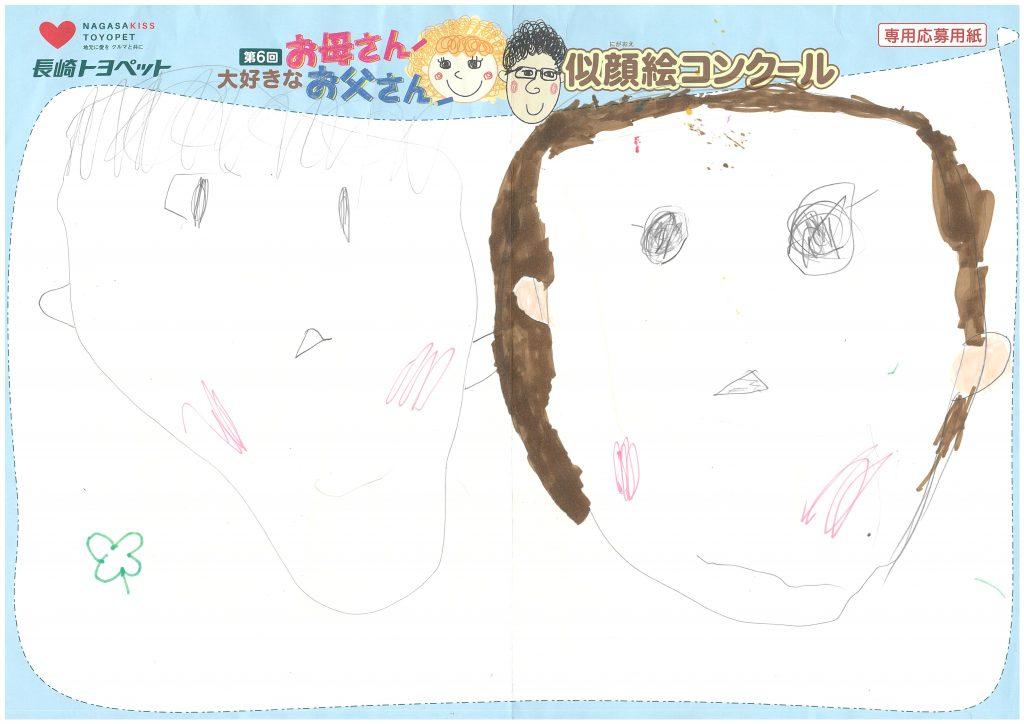 S.Yくん(3才)の作品