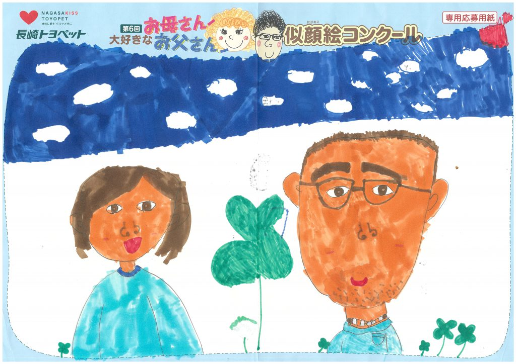 M.Yちゃん(7才)の作品