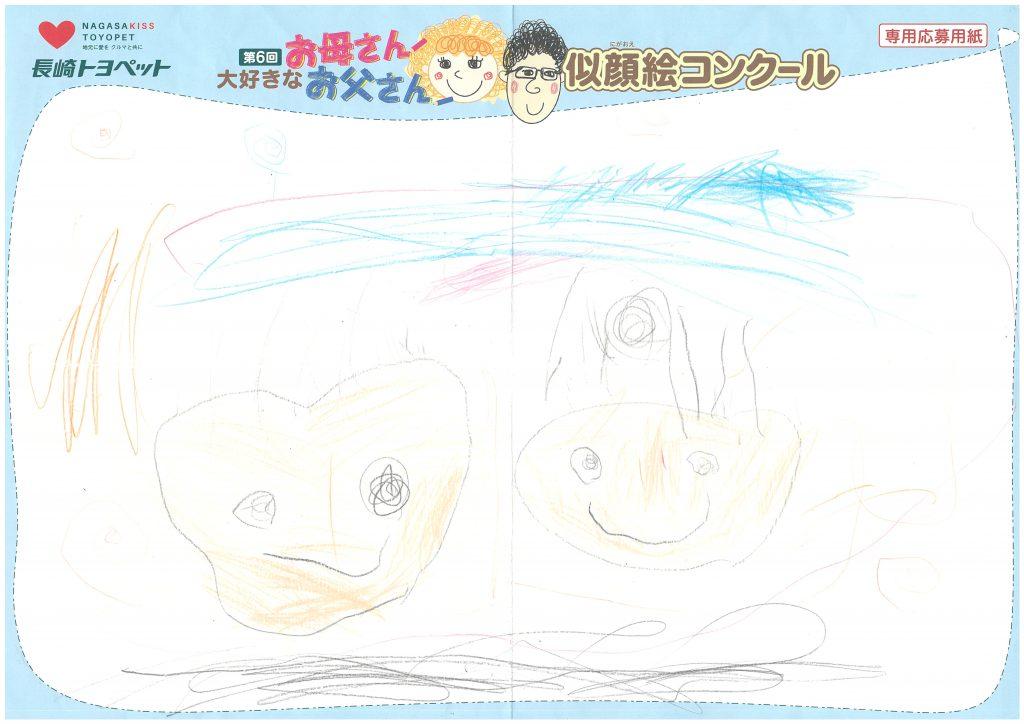 R.Nくん(4才)の作品