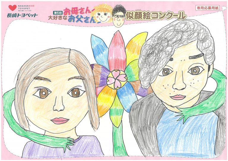 S.Oちゃん(9才)の作品