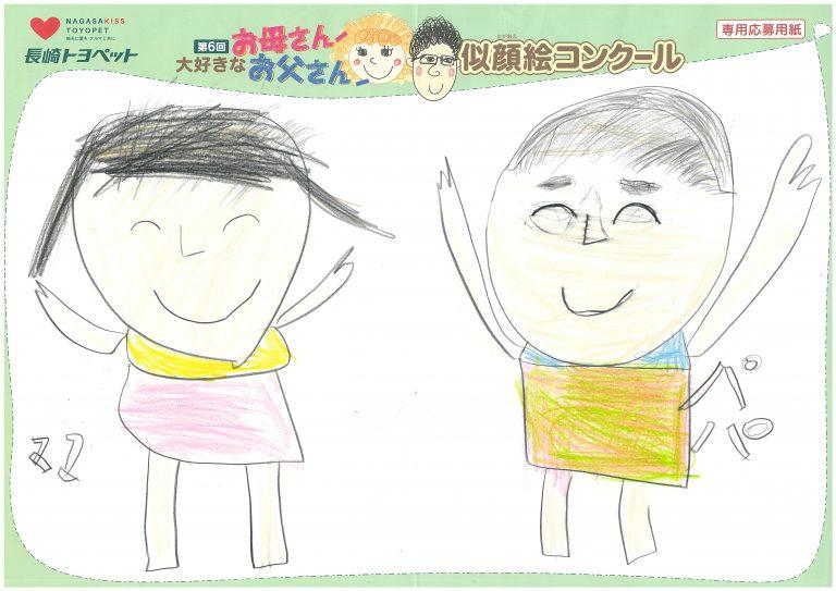 R.Sくん(9才)の作品