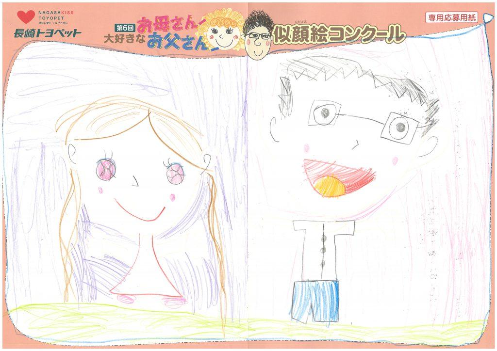 N.Tちゃん(6才)の作品