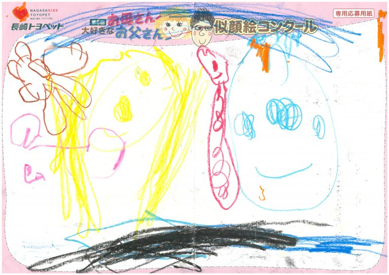M.Nちゃん(3才)の作品