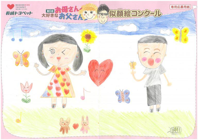 K.Nちゃん(8才)の作品