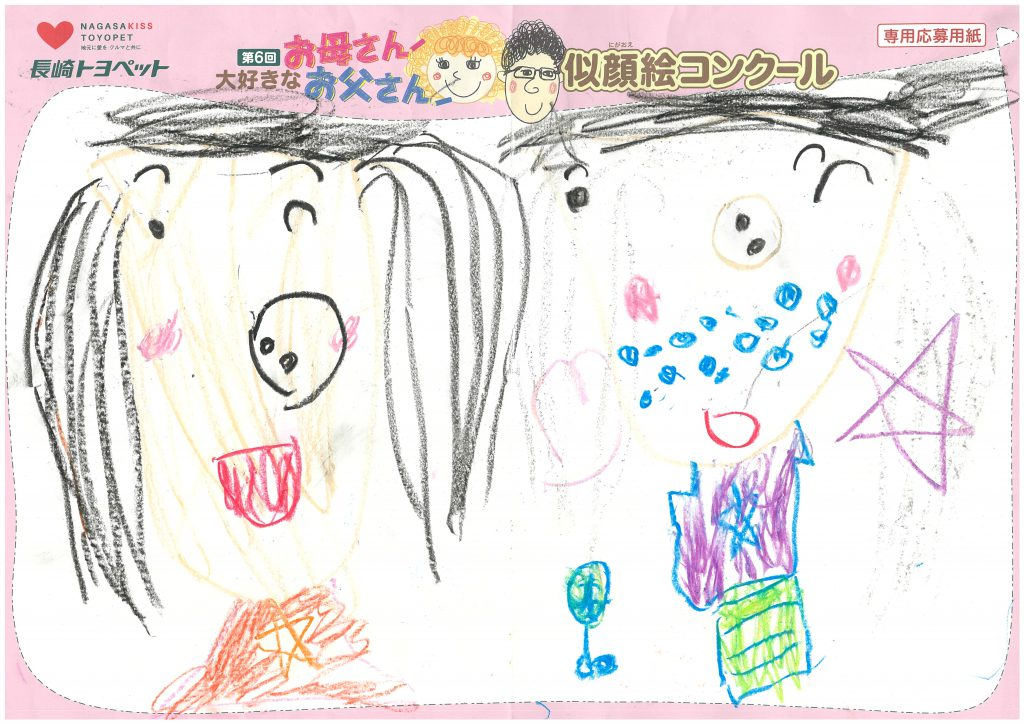 H.Yちゃん(4才)の作品