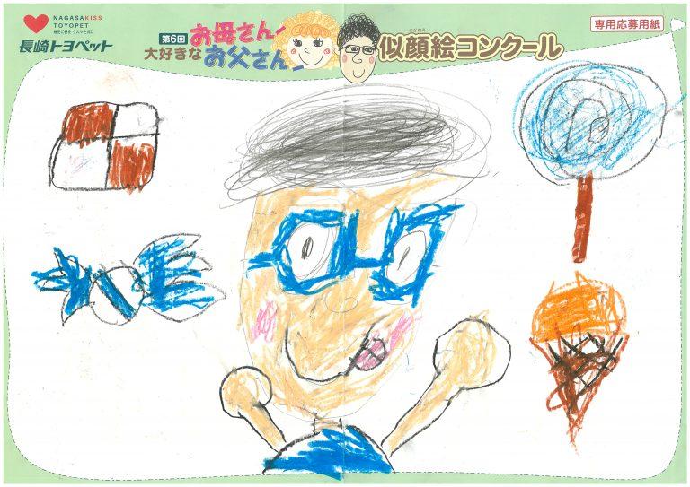 T.Sちゃん(7才)の作品