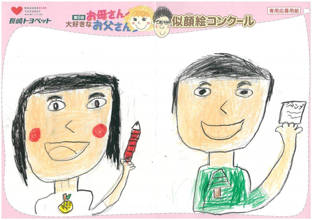 R.Kくん(7才)の作品