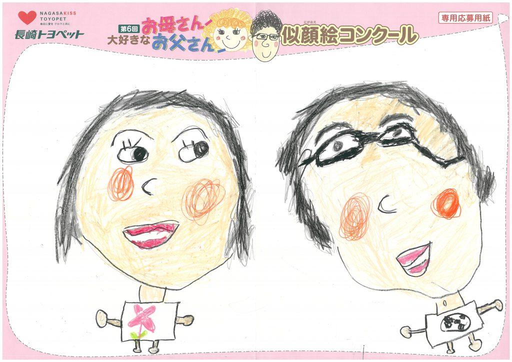 S.Kちゃん(4才)の作品