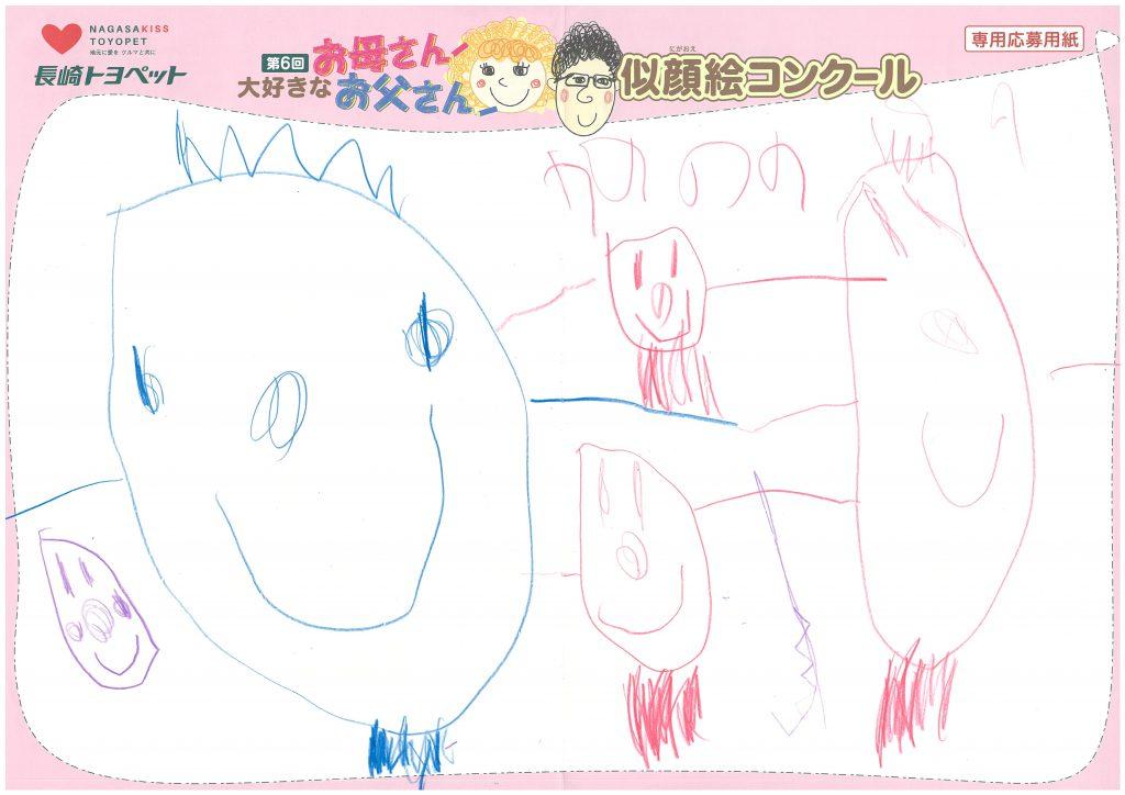 Y.Hちゃん(3才)の作品