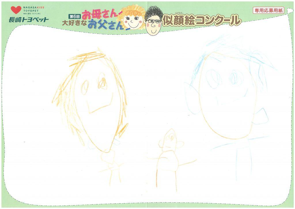 R.Uくん(4才)の作品