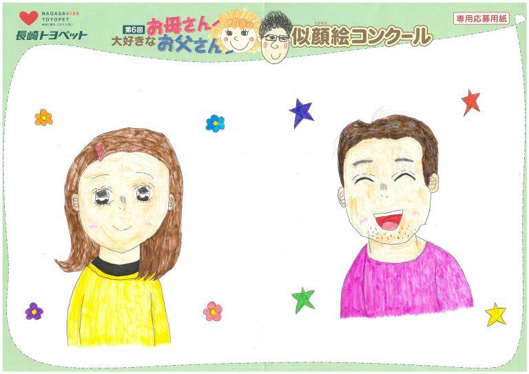 N.Yちゃん(10才)の作品