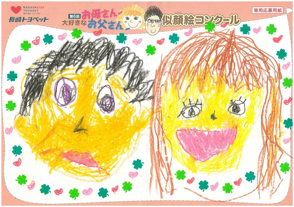 H.Kちゃん(2才)の作品