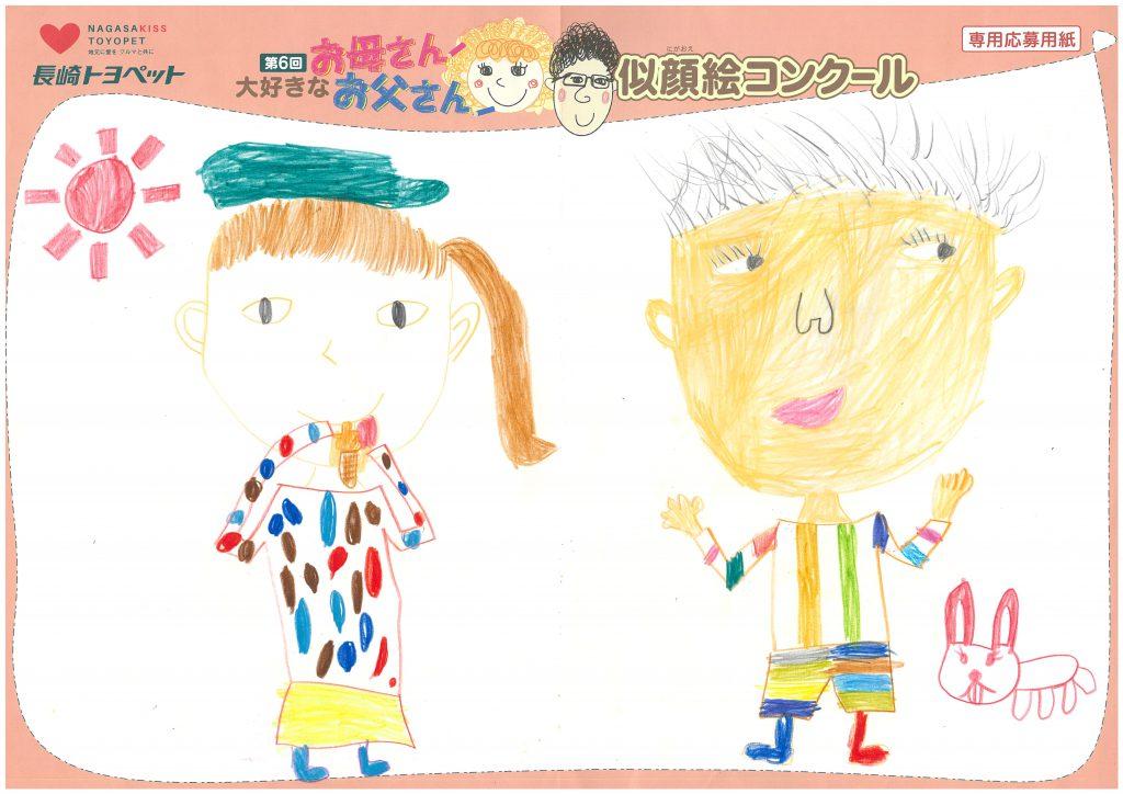 M.Gちゃん(8才)の作品