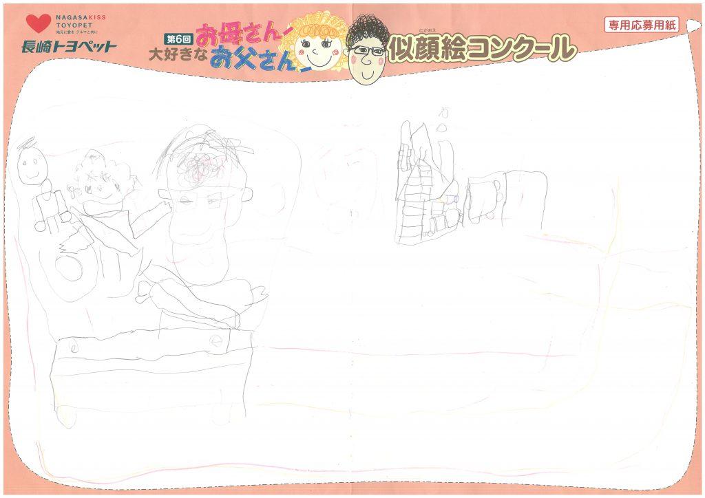 K.Iくん(5才)の作品