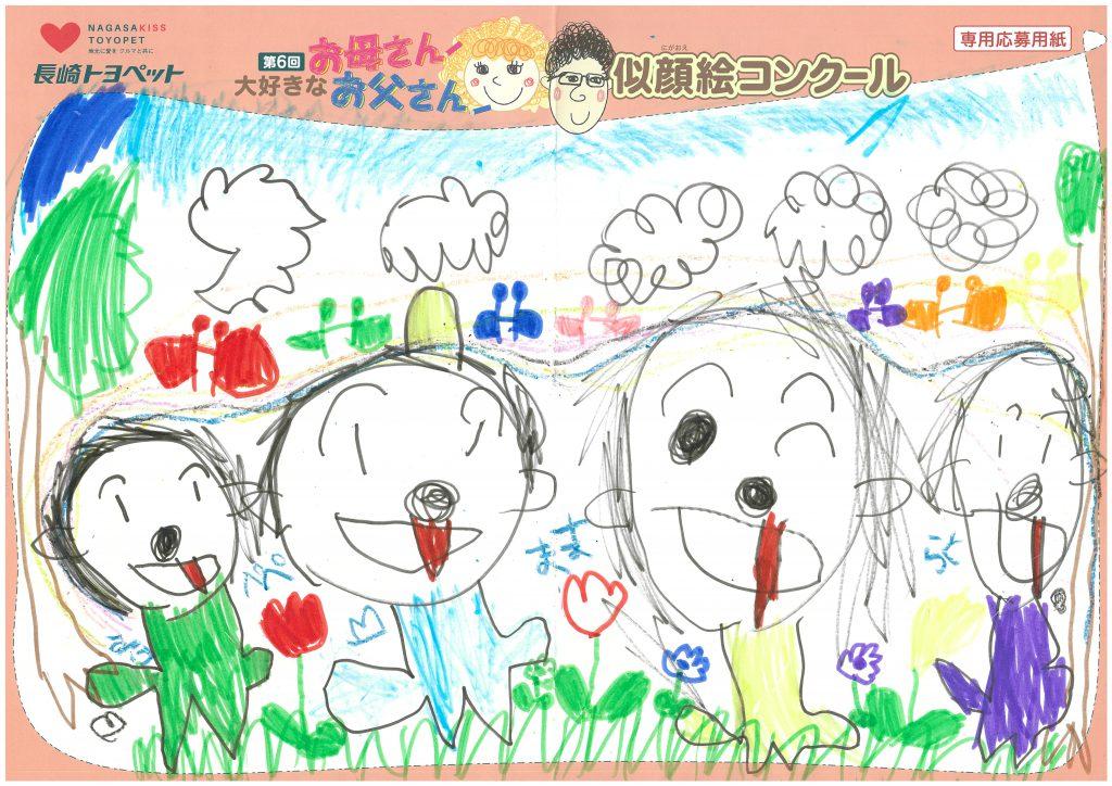 H.Wちゃん(5才)の作品